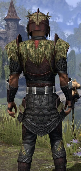 Black Fin Heavy - Male Close Rear