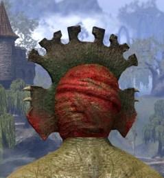 Bog Blight Funerary Mask - Argonian Male Rear