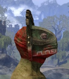 Bog Blight Funerary Mask - Argonian Male Right