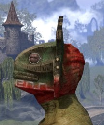 Bog Blight Funerary Mask - Argonian Male Side