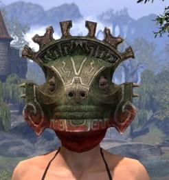 Bog Blight Funerary Mask - Female Front