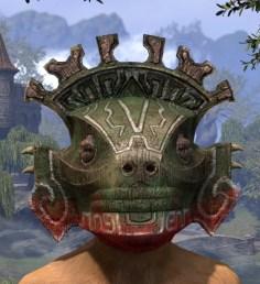 Bog Blight Funerary Mask - Khajiit Female Front