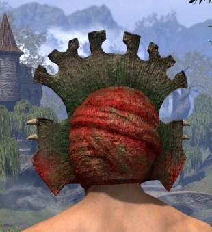 Bog Blight Funerary Mask - Male Rear