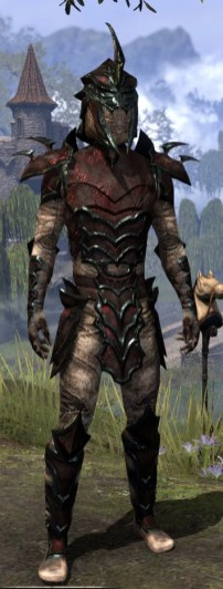 Daedric Medium - Male Front