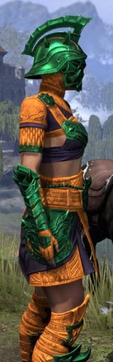 Deadlands Gladiator - Dyed Close Side