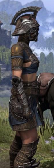 Deadlands Gladiator - Female Close Side
