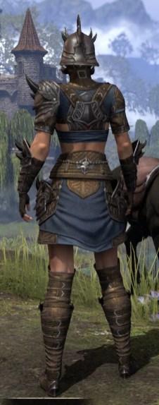 Deadlands Gladiator - Female Rear