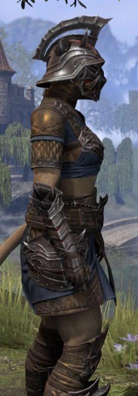 Deadlands Gladiator - Khajiit Female Close Side