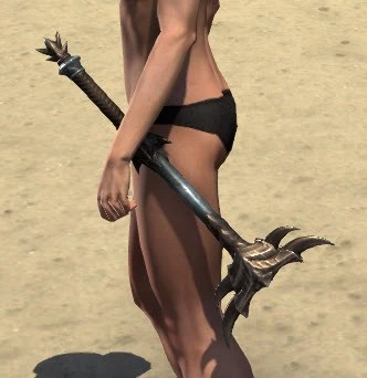 Deadlands Gladiator Mace 1
