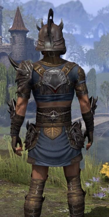 Deadlands Gladiator - Male Close Rear