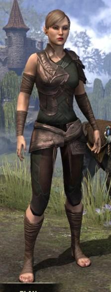 Eveli's Adventuring Leathers - Female Front