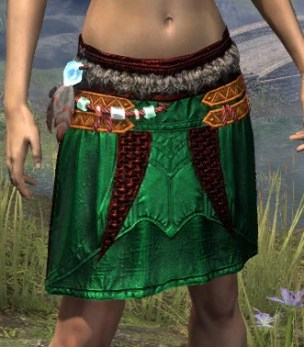 Harpooner's Wading Kilt - Dyed Front