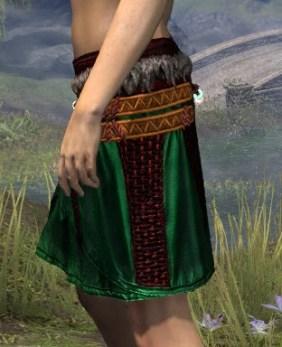 Harpooner's Wading Kilt - Dyed Side