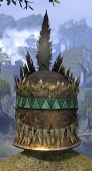 Helm of the Black Fin - Argonian Male Rear