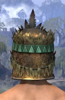 Helm of the Black Fin - Male Rear
