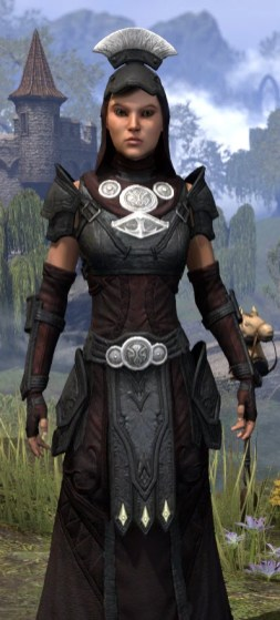 Ivory Brigade Light - Female Robe Close Front