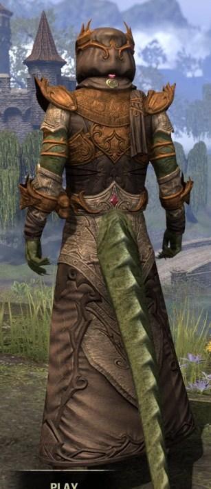 Ja'zennji Siir - Argonian Male Rear