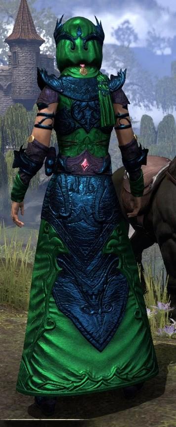Ja'zennji Siir - Dyed Rear