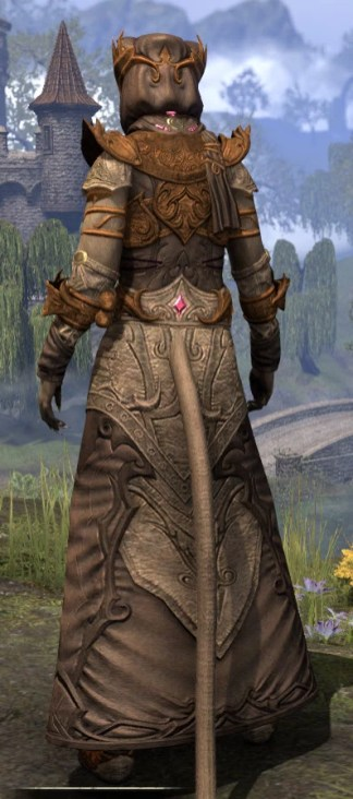 Ja'zennji Siir - Khajiit Female Rear
