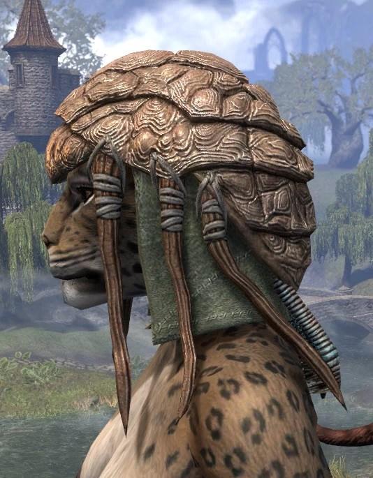 Netch Handler Cap - Khajiit Female Side