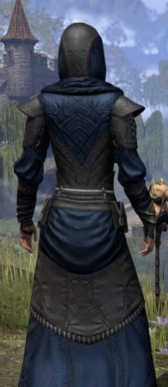 Nibenese Court Wizard - Female Close Rear