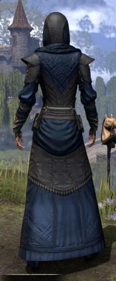 Nibenese Court Wizard - Female Rear