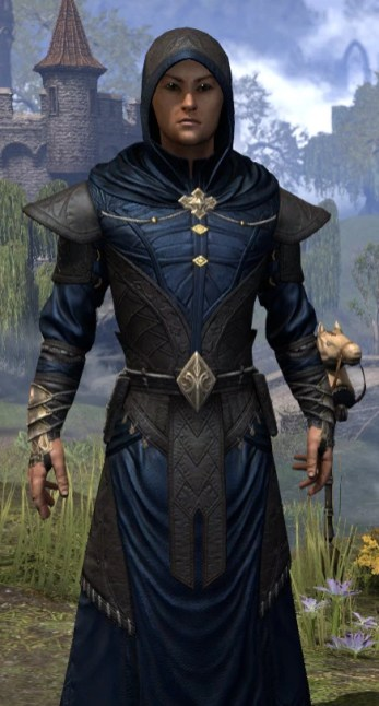 Nibenese Court Wizard - Male Close Front