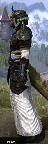 Sul-Xan Light - Argonian Male Robe Side