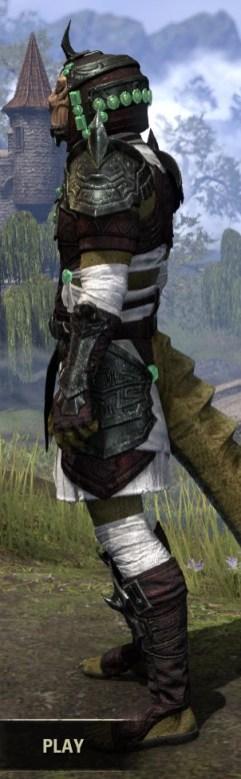 Sul-Xan Light - Argonian Male Shirt Side