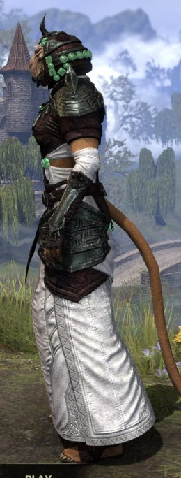 Sul-Xan Light - Khajiit Female Robe Side