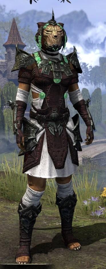 Sul-Xan Light - Khajiit Female Shirt Front