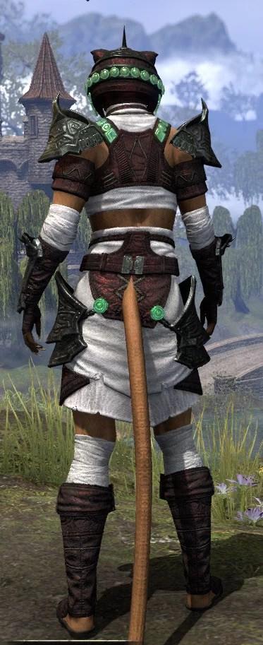 Sul-Xan Light - Khajiit Female Shirt Rear