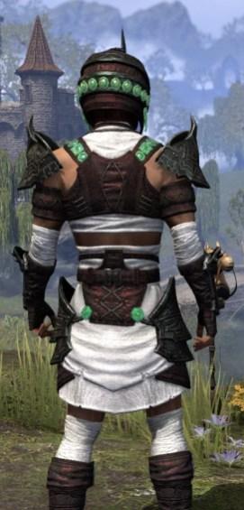Sul-Xan Light - Male Shirt Close Rear