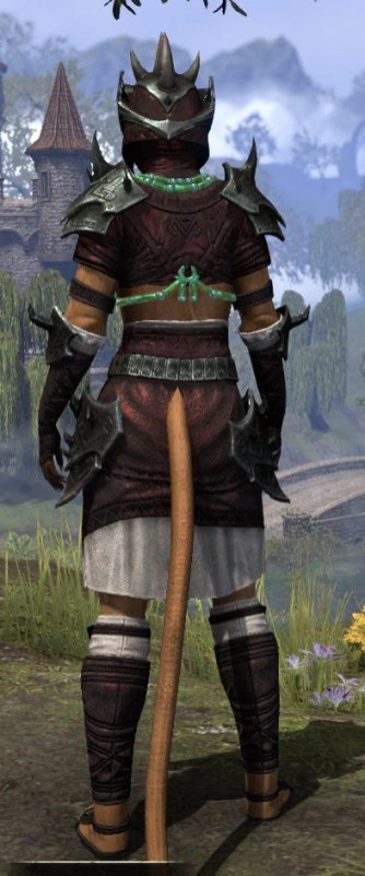 Sul-Xan Medium - Khajiit Female Rear