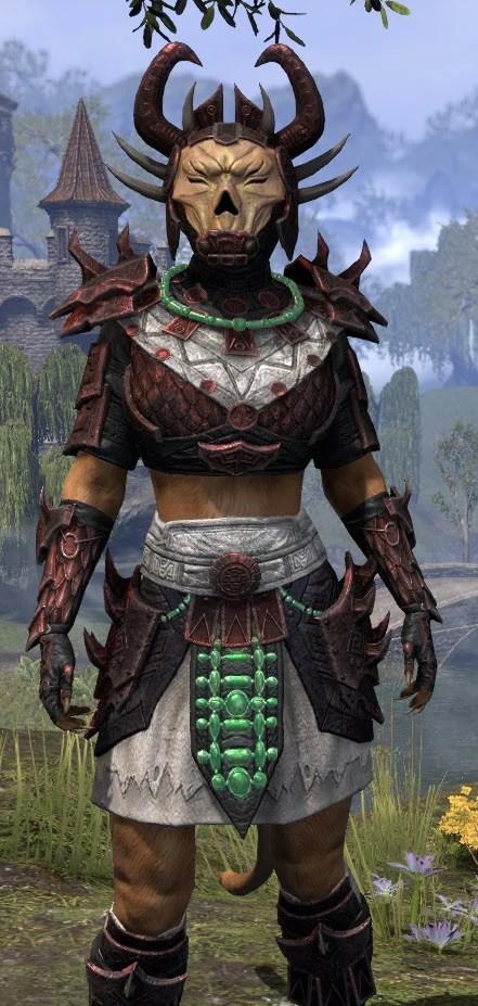 Sun-Xan Heavy - Khajiit Female Close Front