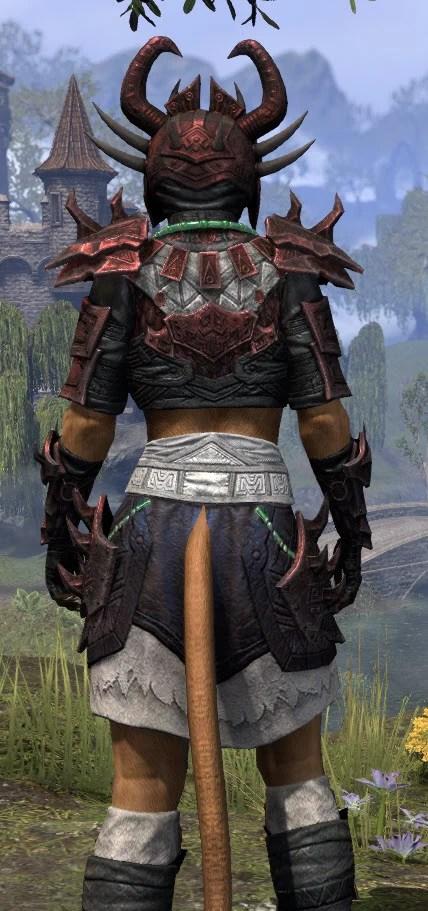 Sun-Xan Heavy - Khajiit Female Close Rear