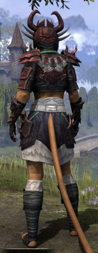 Sun-Xan Heavy - Khajiit Female Rear