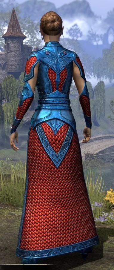 Thrafey Debutante Gown - Dyed Rear