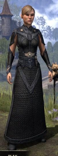 Thrafey Debutante Gown - Female Front