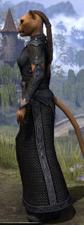 Thrafey Debutante Gown - Khajiit Female Side