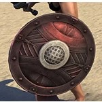 True-Sworn Ruby Ash Shield
