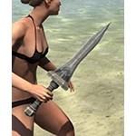 True-Sworn Iron Dagger