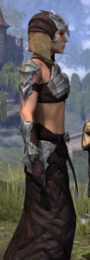 Waking Flame Ancestor Silk - Female Robe Close Side