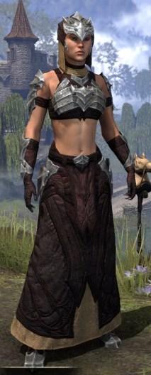 Waking Flame Ancestor Silk - Female Robe Front