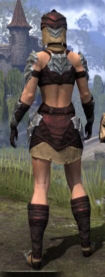 Waking Flame Ancestor Silk - Female Shirt Rear
