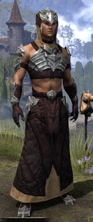 Waking Flame Ancestor Silk - Male Robe Front