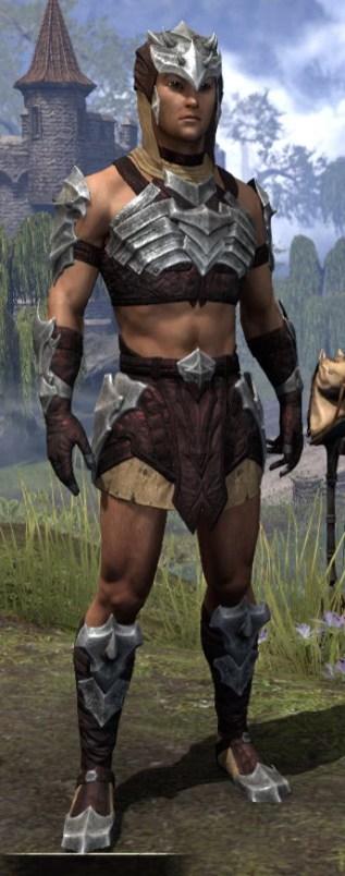 Waking Flame Ancestor Silk - Male Shirt Front