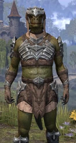 Waking Flame Homespun - Argonian Male Shirt Close Front