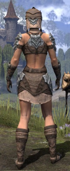 Waking Flame Homespun - Female Shirt Rear