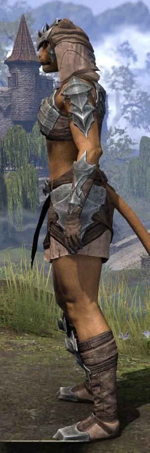 Waking Flame Homespun - Khajiit Female Shirt Side